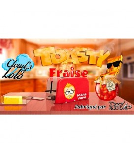 TOASTY FRAISE – ARÔME CLOUD'S OF LOLO