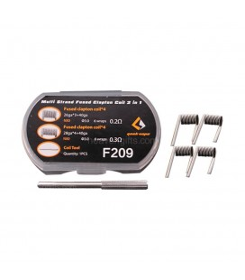 BOX/KIT COIL N80 Fused Clapton 2 en 1 (x8)